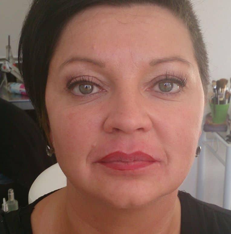 Permanent Lippen geschminkt Titisee Neustadt Hechingen Bad Dürrheim singen